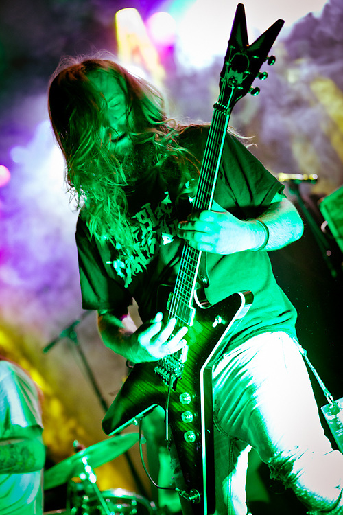 Summer Slaughter Tour with The Black Dahlia Murder, Whitechapel, Darkest Hour, Six Feet Under and Dying Fetus at Irving Plaza, NYC, 8.11.11