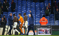 Cardiff City manager Neil Warnock after the final whistle during the Premier League match at Selhurst Park, London.