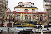 THE BATACLAN<br /> still under investigation from the attacks took place last friday<br /> ©Exclusivepix Media