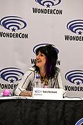 Sara Richard at Wondercon in Anaheim Ca. March 31, 2019
