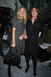 Left to right, ASTRID HARBORD and CAMILLA STOPFORD-SACKVILLE at a party to present the Fall/Winter Collection 2007/2008 of Moncler the French mountaineering brand held at 10 Mercer Street, London WC2 on 13th February 2007.<br /><br />NON EXCLUSIVE - WORLD RIGHTS