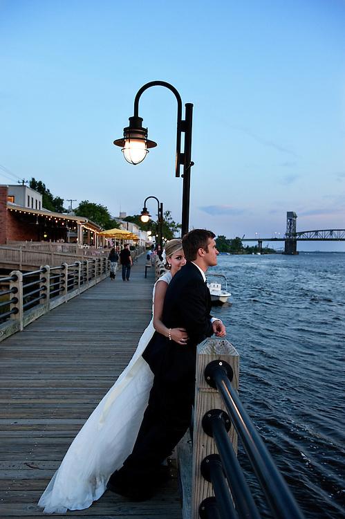 Wilmington NC Waterfront Wedding