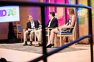 Rich Wilhelm of Booz Allen moderates the panel Deep Dive: Privacy and Security - What's the Right Balance during the 2016 Aspen Ideas Festival in Aspen, CO. ©Brett Wilhelm