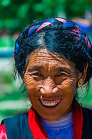 Farmers, near Dagze, Tibet (Xizang), China.