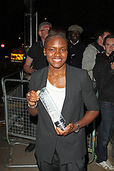 LONDON - June 04: Nicola Adams leaving the Glamour Awards 2013 (Photo by Brett D. Cove) /LNP © Licensed to London News Pictures.