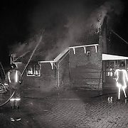 NLD/Soest/19911005 - Brand in boederij van de Koninklijk Domeinen in Soest