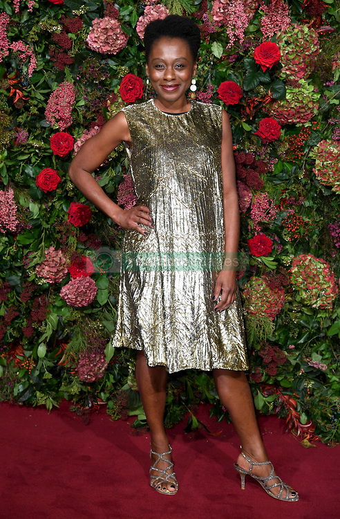 Natasha Gordon attending the Evening Standard Theatre Awards 2018 at the Theatre Royal, Drury Lane in Covent Garden, London. Restrictions: Editorial Use Only. Photo credit should read: Doug Peters/EMPICS