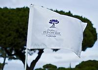 VILAMOURA - Algarve - Oceanico OLD COURSE  Golfcourse, vlag met logo,   COPYRIGHT KOEN SUYK