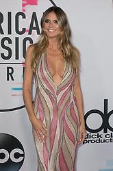 November 19, 2017 - Los Angeles, California, U.S - Heidi Klum on the Red Carpet of the 2017 American Music Awards held on Sunday, November 19, 2017 at the Microsoft Theatre in Los Angeles, California. (Credit Image: © Prensa Internacional via ZUMA Wire)
