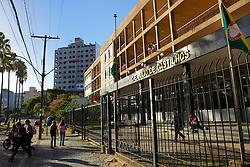 Colegio Estadual Julio de Castilhos, onde a ex-deputada federal Luciana Genro montou seu cursinho. FOTO: Jefferson Bernardes/Preview.com