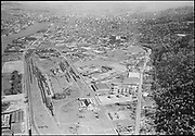 """Ackroyd 06803-1. """"Commonwealth Inc. Aerials of NW district. Guilds Lake district. April 23, 1956"""" (5x7"""")"""