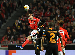 February 22, 2019 - Na - Lisbon, 21/02/2019 - SL Benfica received Galatasaray SK tonight at Est√°dio da Luz in the second qualifying round of the Europa League 2018/2019. Iron  (Credit Image: © Atlantico Press via ZUMA Wire)