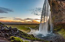 THEMENBILD - der Wasserfall Seljalandsfoss, aufgenommen am 09. Juni 2019 in Island // the waterfall Seljalandsfoss, Iceland on 2019/06/09. EXPA Pictures © 2019, PhotoCredit: EXPA/ Peter Rinderer