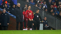 Football - 2016 / 2017 FA Cup - Fifth Round: Blackburn vs. Manchester United<br /> <br /> Jose Mourinho manager of Manchester United brings on subs Zlatan Ibrahimovic and Paul Pogba of Manchester United during the match at Ewood Park.<br /> <br /> COLORSPORT/LYNNE CAMERON