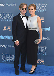 Stars attend the 22nd Annual Critics Choice Awards in Santa Monica, California. 11 Dec 2016 Pictured: William H. Macy, Felicity Huffman. Photo credit: Bauer Griffin / MEGA TheMegaAgency.com +1 888 505 6342
