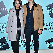 Skate at Somerset House with Fortnum & Mason Launch party, London, Somerset House, 12 November 2019, London, UK,