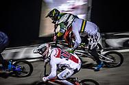 #77 (SAKAKIBARA Kai) AUS [DK, Shimano, Box, FLY] at Round 7 of the 2019 UCI BMX Supercross World Cup in Rock Hill, USA