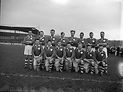 Combined Universities and The Rest v Ireland at Croke Park.  Ireland Team..06.03.1955.