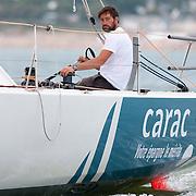 Louis Duc sur Phoenix Europe-Carac / Class 40 N°65
