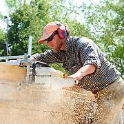 Gundalow II Construction, June 16-21, 2011