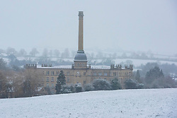 © Licensed to London News Pictures. 05/03/2016. Chipping Norton. Oxfordshire. Bliss Mill. Snow in Oxfordshire early morning on 5th March 2016.. Photo credit : MARK HEMSWORTH/LNP