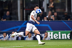 September 18, 2018 - Milan, Milan, Italy - Son Heung-Min of Tottenham Hotspur during the UEFA Champions League Group B match between Inter Milan and Tottenham Hotspur at Stadio San Siro, Milan, Italy on 18 September 2018. (Credit Image: © Giuseppe Maffia/NurPhoto/ZUMA Press)