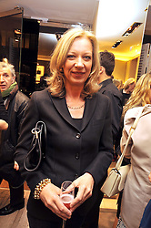 MARY GREENWELL at a Champagne & chocolate party hosted by Roger Vivier at their store in Sloane Street, London on 12th February 2009.  The evening was in aid of The Silver Lining charity.