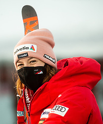 Michelle Gisin (SUI) during 2nd Run of Ladies' Giant Slalom at 57th Golden Fox event at Audi FIS Ski World Cup 2020/21, on January 16, 2021 in Podkoren, Kranjska Gora, Slovenia. Photo by Vid Ponikvar / Sportida