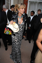 COUNTESS MAYA VON SCHONBURG at the Ark 2007 charity gala at Marlborough House, Pall Mall, London SW1 on 11th May 2007.<br />