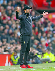Liverpool manager Jurgen Klopp reacts on the touchline