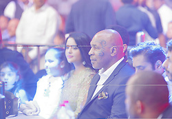 September 29, 2018 - Mumbai, India - 29 sept 2018- Mumbai - INDIA..Mike Tyson attends the inaugural  K1 League MMA mixed marshal arts League at Mumbai , India. (Credit Image: © Subhash Sharma/ZUMA Wire)
