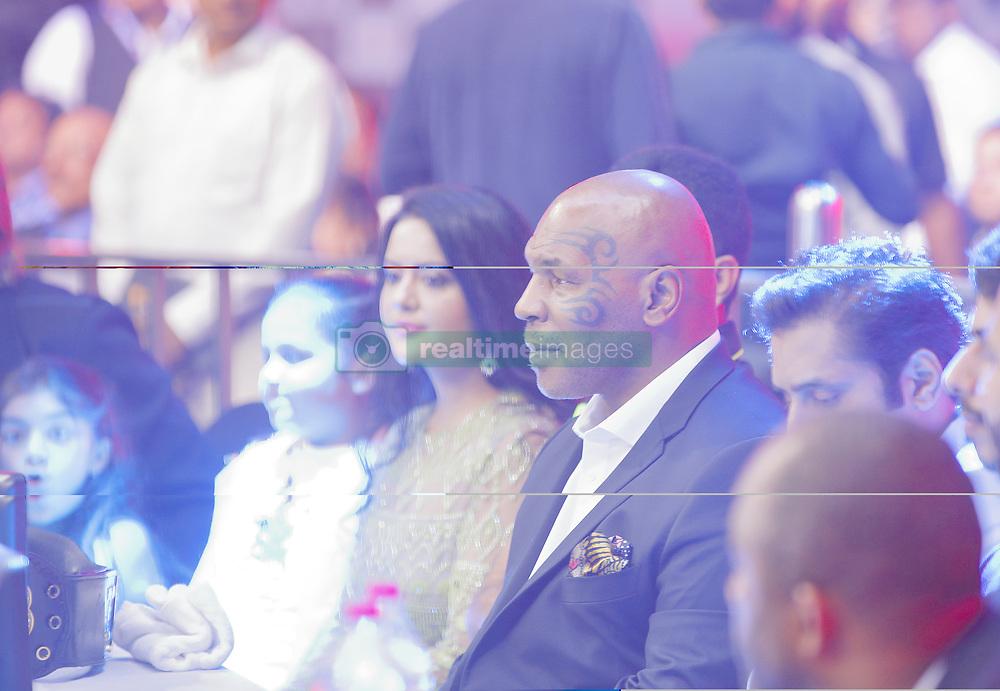 September 29, 2018 - Mumbai, India - 29 sept 2018- Mumbai - INDIA..Mike Tyson attends the inaugural  K1 League MMA mixed marshal arts League at Mumbai , India. (Credit Image: © Subhash Sharma/ZUMA Wire)
