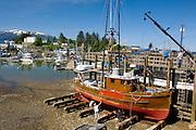 Dry Dock Boat Repair in Wrangell Alaska