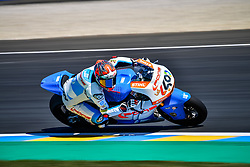 May 19, 2018 - Le Mans, Sarthe, France - 40 HECTOR BARBERA (ESP) PONS HP40 (ESP) KALEX MOTO2 (Credit Image: © Panoramic via ZUMA Press)