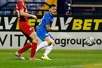 Connor Jennings. Stockport County FC 4-0 Chesterfield FC. Emirates FA Cup. 4.11.20