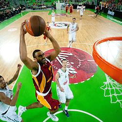 20111109: SLO, Basketball - Euroleague, KK Union Olimpija vs Galatasaray Medical Park (TUR)