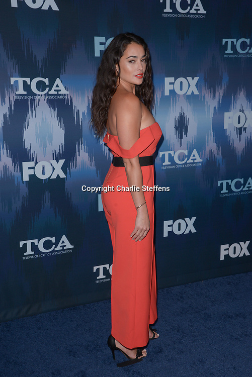 NATALIE MARTINEZ at the Fox Winter TCA 2017 All-Star Party at the Langham Hotel in Pasadena, California