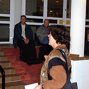 Perspresentatie nieuwe partij van Mw. Marjan Horst - Rebel Dorpsbelangen Huizen, ruzie Nol van der Helm