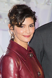 Audrey Tautou at the opening of Christmas decorations at Les Galeries Lafayette Store in Paris, France on november 8th 2016. Photo by Nasser Berzane/ABACAPRESS.COM    570481_039 Paris France