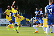 AFC Wimbledon striker Andy Barcham (17) during the Pre-Season Friendly match between Margate and AFC Wimbledon at Hartsdown Park, Margate, United Kingdom on 16 July 2016. Photo by Stuart Butcher.