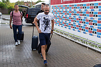 Spainsh Andres Iniesta arriving at the concentration of the spanish national football team in the city of football of Las Rozas in Madrid, Spain. August 28, 2017. (ALTERPHOTOS/Rodrigo Jimenez)
