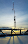 CAMA, hangar, construction, crane,