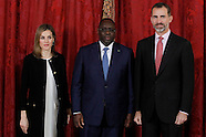 121514 Spanish Royals hosted a lunch with Senegalese President Macky Sall