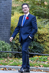 © Licensed to London News Pictures. 28/10/2019. London, UK. Chairman of European Research Group (ERG)<br /> STEVE BAKER arrives in Downing Street. Later today MPs will vote on BORIS JOHNSON's motion on a general election in December 2019. Photo credit: Dinendra Haria/LNP