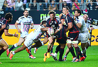 Maxime MEDARD / Jonathan DANTY - 24.04.2015 - Stade Francais / Stade Toulousain - 23eme journee de Top 14<br />