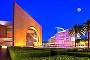 Segerstrom Center for the Arts at Night in Costa Mesa California