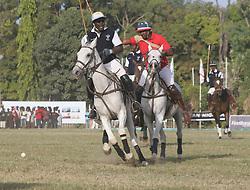 Nov. 7, 2015 - Kaduna, Nigeria - The game between Kaduna El- Amin and First bank polo teams during the closing ceremony of  2015 Kaduna international polo tournament held in Kaduna on November 7, 2015   (Credit Image: RealTime Images)