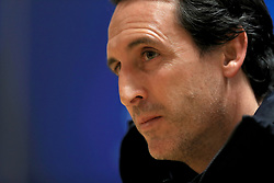File photo dated 22-11-2016 of Paris Saint-Germain manager Unai Emery