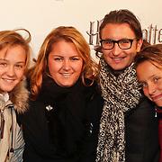 NLD/Utrecht/20101116 - Premiere Harry Potter, Danny Froger, broer Maxim, Didier en Natascha