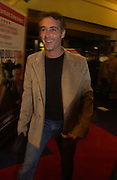 """GREG WISE, UK Premiere of """"A Cock And Bull Story"""" at Cineworld Cinemas, Haymarket  AND AFTERWARDS AT SOHO HOUSE.  The film by director Michael Winterbottom is a literary adaptation of """"The Life And Opinions Of Tristram Shandy, GENTLEMAN. 16 January 2006. Gentleman ONE TIME USE ONLY - DO NOT ARCHIVE  © Copyright Photograph by Dafydd Jones 66 Stockwell Park Rd. London SW9 0DA Tel 020 7733 0108 www.dafjones.com"""